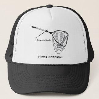 Red de aterrizaje para pescar el ejemplo marcado gorra de camionero