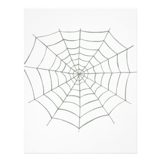 Red de la araña tarjeton