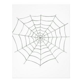 Red de la araña folleto 21,6 x 28 cm
