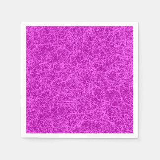 Red de la púrpura de las servilletas de papel