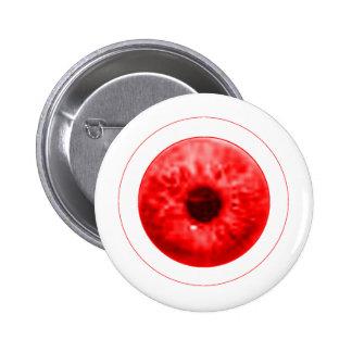 Red Eye calcula visualmente jGibney el artista Chapa Redonda 5 Cm