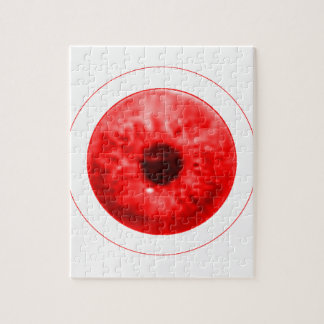 Red Eye calcula visualmente jGibney el artista Puzzle