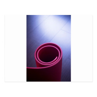 Red fitness yoga and pilates foam gym mats postal