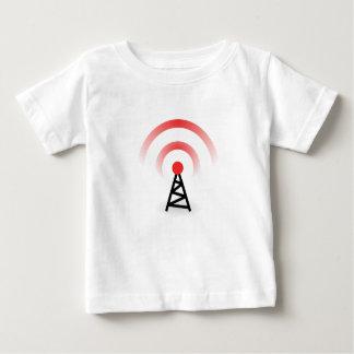 Red inalámbrica camiseta de bebé