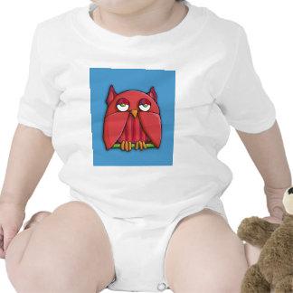 Red Owl aqua Infant T-shirt