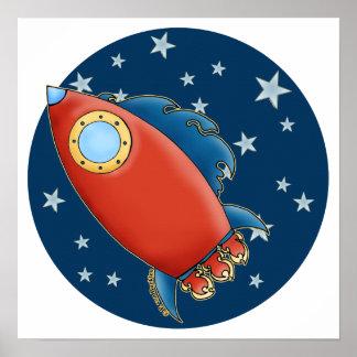 Red Rocket lindo y posters de las estrellas