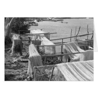 Redes del Sena, Marco Island, la Florida, 1959 Tarjeta De Felicitación