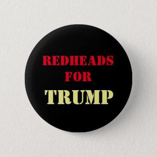 Redheads para el botón de la campaña del TRIUNFO