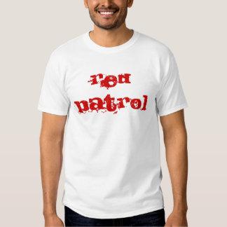 redpatrol, redpatrol camiseta
