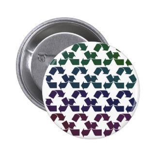 Reduzca la reutilización reciclan pin