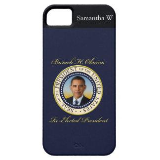 Reelección conmemorativa de presidente Barack Funda Para iPhone 5 Barely There