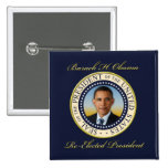 Reelección conmemorativa de presidente Barack Obam Pins