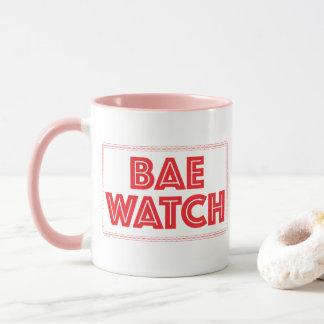 Referencia divertida de la película del reloj de taza