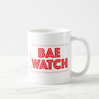 Referencia divertida de la película del reloj de taza de café