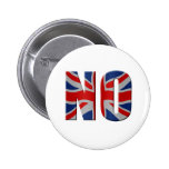 Referéndum escocés de la independencia - vote no pin
