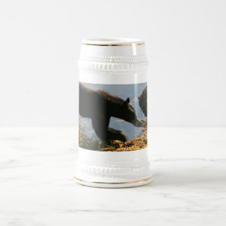 Refiera la alga marina jarra de cerveza