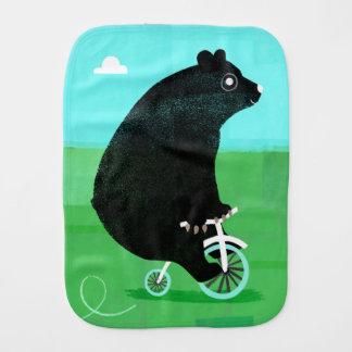 ¡Refiera un paño del Burp de la bicicleta! Paños Para Bebé