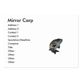 REFLEJE la copia CARP1, nómbrela, la dirección 1, Tarjetas De Visita Grandes