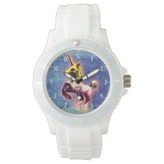 Reflejo de la galaxia del reloj el | del unicornio