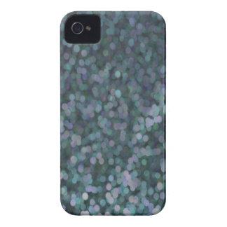 Reflejo pintado azul del brillo del bígaro iPhone 4 funda