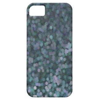 Reflejo pintado azul del brillo del bígaro iPhone 5 Case-Mate coberturas