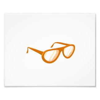 reflexión anaranjada de las gafas de sol fotografias