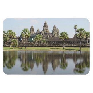 reflexión de Angkor Wat Imán Flexible