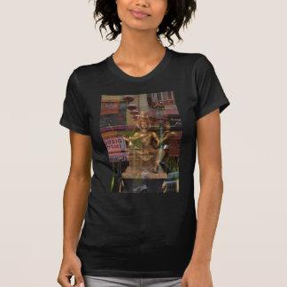 Reflexión de la ventana de Chinatown, San Francisc Camiseta