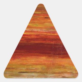 Reflexión Pegatina Triangular