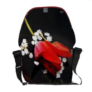 Reflexionando pensamientos de usted la bolsa de me bolsas messenger