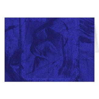 Reflexiones azules I Tarjeta De Felicitación
