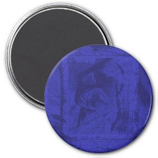 Reflexiones azules iman