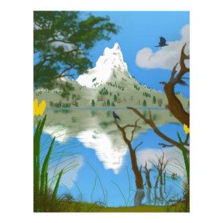Reflexiones de las naturalezas folleto 21,6 x 28 cm
