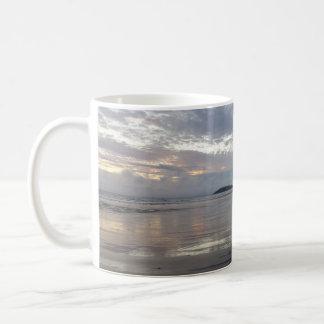 Reflexiones en la taza de la playa de la península