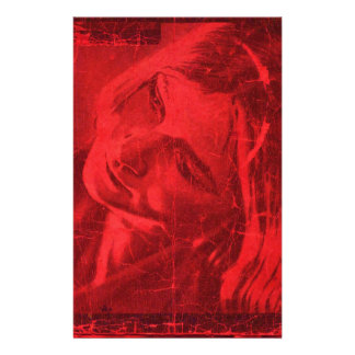 Reflexiones rojas  papeleria de diseño