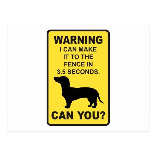Refrán divertido chistoso de Doxon del perro del D Tarjeta Postal