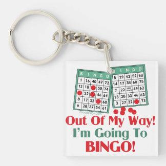 Refrán divertido del bingo llavero