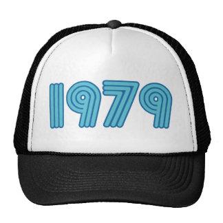 Refresque el diseño 1979 gorros bordados