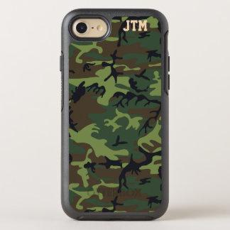 Refresque el monograma de Camo del camuflaje Funda OtterBox Symmetry Para iPhone 8/7