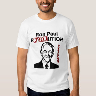 Refresque la camiseta de la revolución de Ron Paul