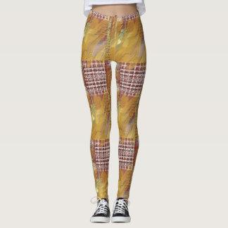 Refresque las polainas texturizadas leggings