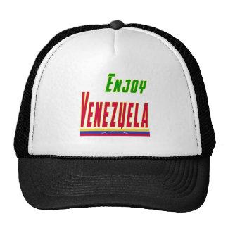 Refresque los diseños para Venezuela Gorros Bordados