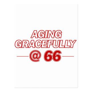 refresque los regalos de 66 años postal