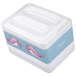 Refrigerador conocido de encargo de los delfínes