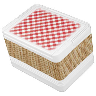 Refrigerador de la cesta de la comida campestre