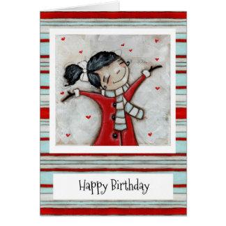 Regado con el amor - tarjeta de cumpleaños