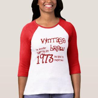 Regalo 1973 de cumpleaños del Brew del vintage Camiseta