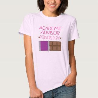 Regalo académico del chocolate del consejero para camisetas