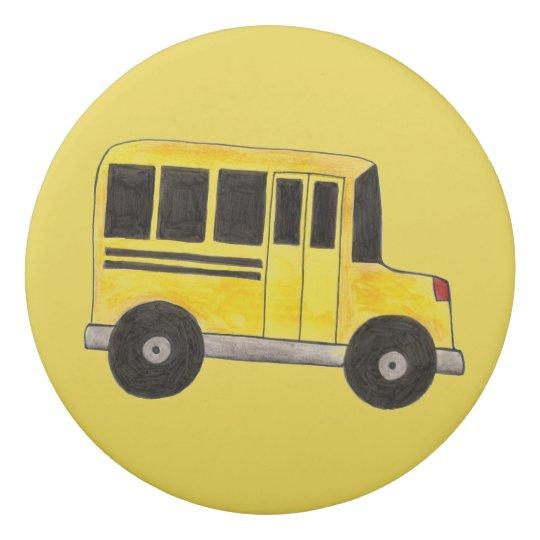 Regalo amarillo personalizado del profesor del goma de borrar