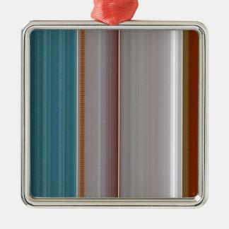 Regalo barato elegante NVN296 del collage de Adorno Cuadrado Plateado